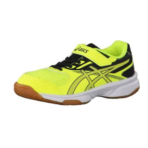 Asics Kinder Volleyballschuhe Upcourt 2 PS C735Y-0795 28.5 Safety Yellow/Dark Grey/Black | 28.5