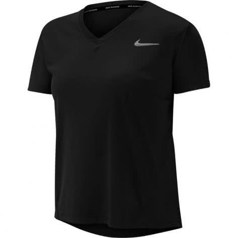 Nike Damen Laufshirt Miler Top Vneck AT6756