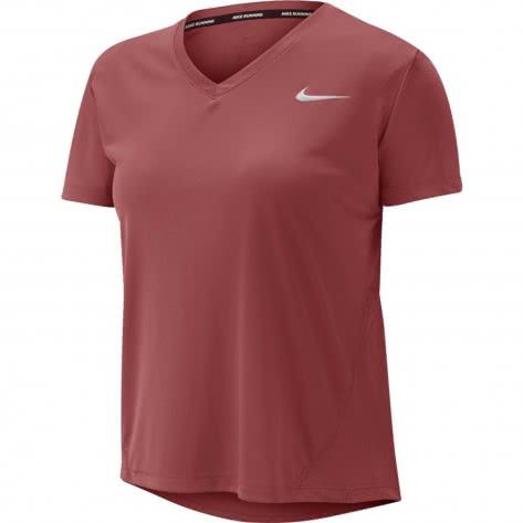 Nike Damen Laufshirt Miler Top Vneck AT6756
