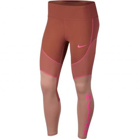Nike Damen 7/8 Tight All-In SD AV1323-252 L Dusty Peach/Rose Gold/Laser Fuchsia | L