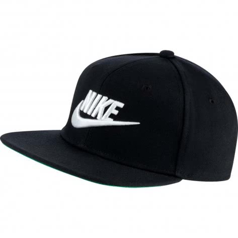 Nike Kinder Kappe Pro Cap Futura AV8015 Black Pine Green White Größe One size