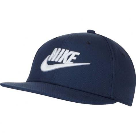Nike Kinder Kappe Pro Cap Futura AV8015-410 Midnight Navy/Game Royal/White | One size