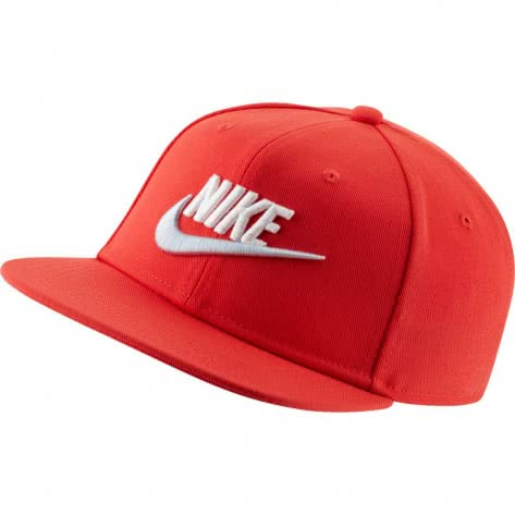 Nike Kinder Kappe Pro Cap Futura AV8015-631 Track Red/Football Grey/White | One size