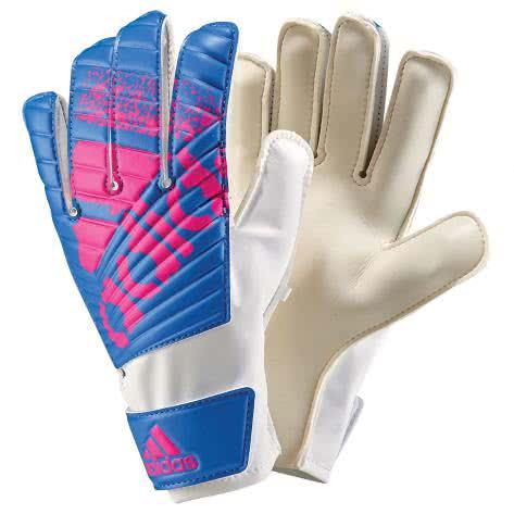 adidas Herren Torwarthandschuhe X Lite white/blue/shock pink s16 Größe: 11