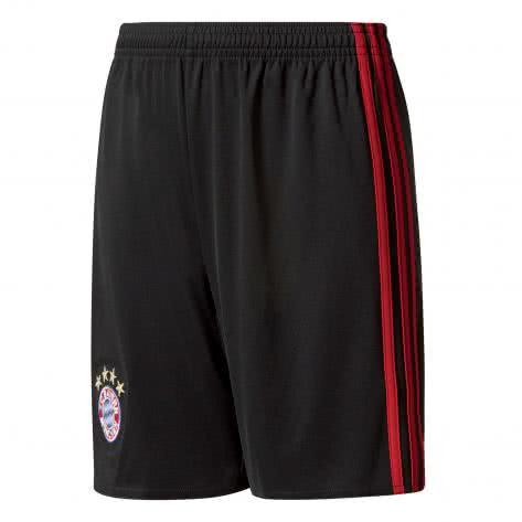 adidas Kinder FC Bayern Münschen Home Torwartshort 17 18 black fcb true red Größe 128,140,152,176