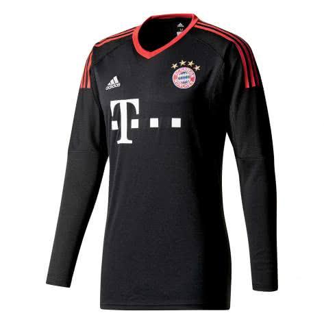 adidas Herren FC Bayern München Home Torwarttrikot 17/18 AZ7947 XS black/fcb true red/white   XS