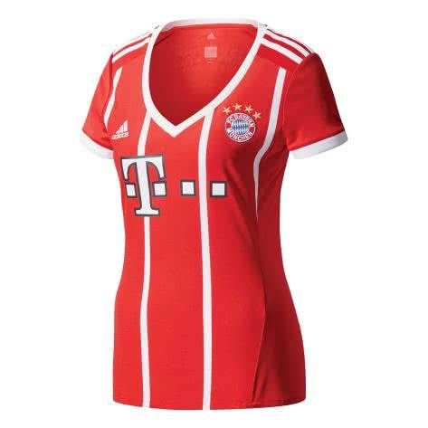 adidas Damen FC Bayern München Home Trikot 17/18 AZ7956 XXS fcb true red/white | XXS