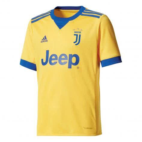 adidas Kinder Juventus Turin Away Trikot 17 18 bold gold collegiate royal Größe 128,140,152,176