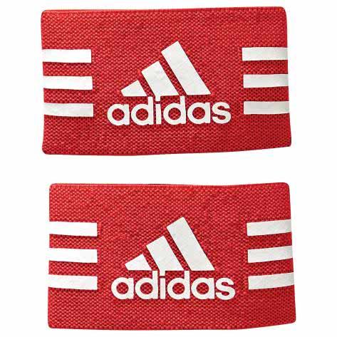 adidas Ankle Strap Schienbeinschonerhalter red/white Größe: One Size