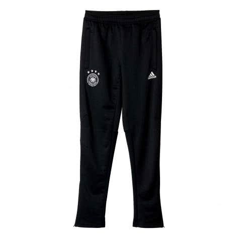 adidas Kinder DFB Trainingshose 2017 B10601 176 black/white   176