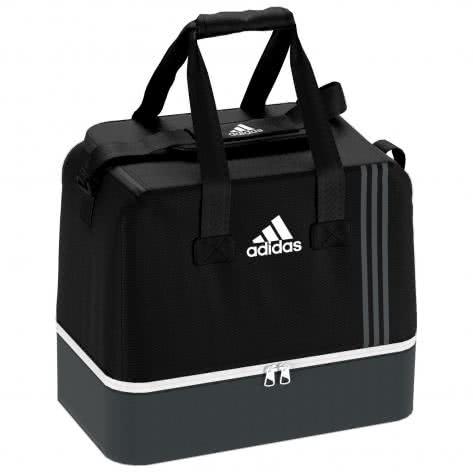 adidas Sporttasche Teambag mit Bodenfach Tiro 17 black/dark grey/white Größe: L,M,S