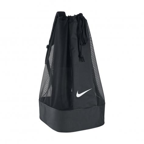 Nike Ballsack Club Team Swoosh Ball Bag BA5200-010 Black/Black/(White) | One size