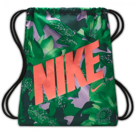 Nike Kinder Turnbeutel Graphic Gym Sack BA5262-629 Pink Rise/Black/Lava Glow | One size
