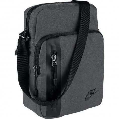 Nike Herren Umhängetasche Tech Small Items Bag BA5268-021 Dark Grey/Black/Black | One size