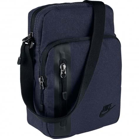 Nike Herren Umhängetasche Tech Small Items Bag BA5268-451 Obsidian/Black/Black | One size
