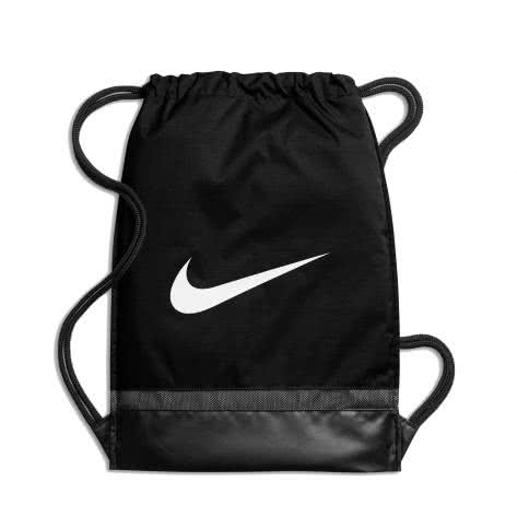 Nike Turnbeutel Brasilia Gym Sack BA5338-010 Black/Black/White | One size