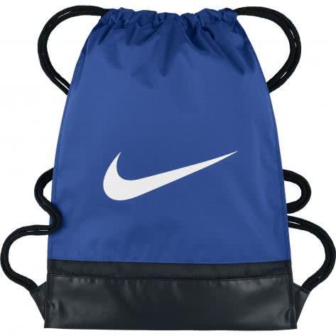 Nike Turnbeutel Brasilia Gym Sack BA5338-480 Game Royal/Black/White | One size