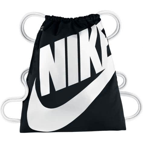 Nike Turnbeutel Heritage Gym Sack BA5351-011 Black/White/White | One size