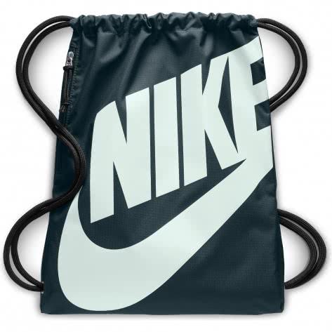 Nike Turnbeutel Heritage Gym Sack BA5351-328 Deep Jungle/Deep Jungle/Barely Grey | One size