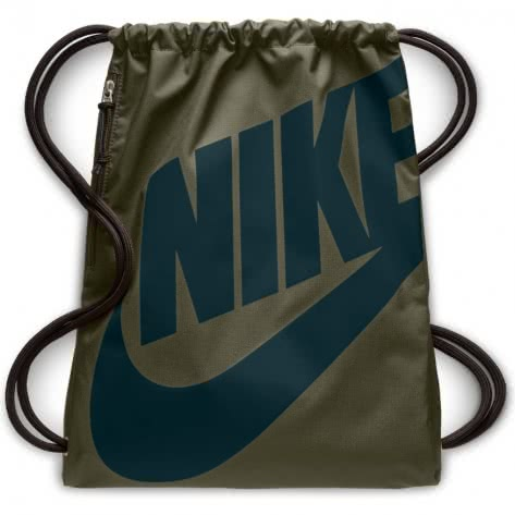Nike Turnbeutel Heritage Gym Sack BA5351-395 Olive Canvas/Midnight Spruce | One size