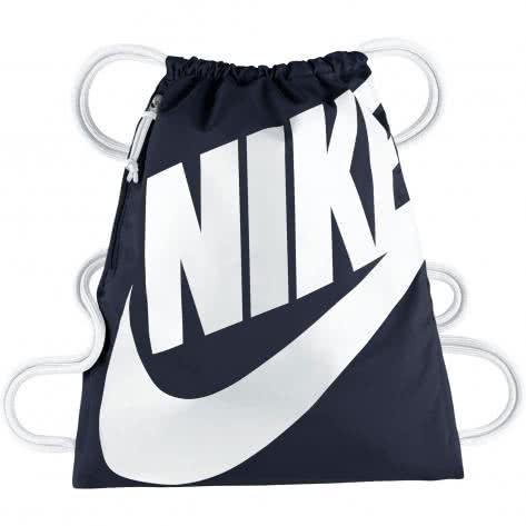 Nike Turnbeutel Heritage Gym Sack BA5351-451 Obsidian/White/White   One size