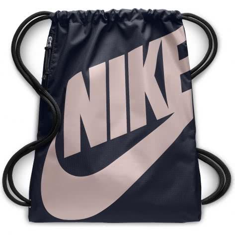 Nike Turnbeutel Heritage Gym Sack BA5351-453 Obsidian/Obsidian/Particle Rose | One size