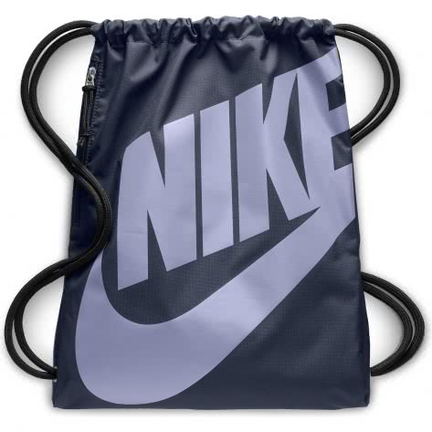 Nike Turnbeutel Heritage Gym Sack BA5351-471 Thunder Blue/Thunder Blue/Purple Rise | One size