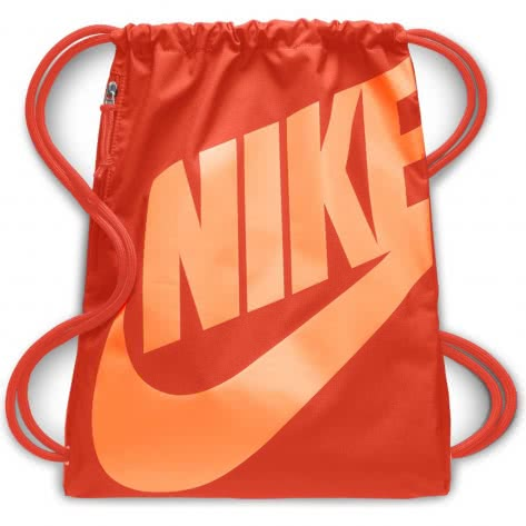 Nike Turnbeutel Heritage Gym Sack BA5351-892 Team Orange/Team Orange/Fuel Orange | One size