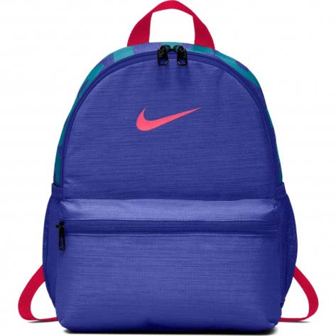 Nike Kinder Rucksack Brasilia JDI Mini Backpack BA5559-510 Rush Violet/Rush Violet/Habanero Red | One size