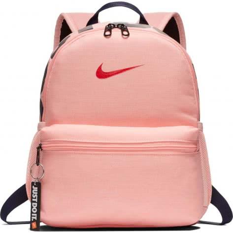 Nike Kinder Rucksack Brasilia JDI Mini Backpack BA5559-697 Bleached Coral/University Red   One size