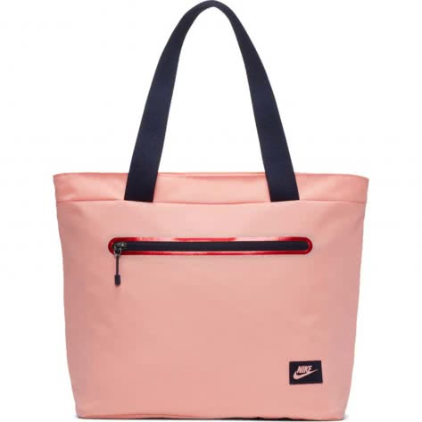Nike Mädchen Tragetasche Tech Tote Bag BA5566-697 Bleached Coral/Bleached Coral | One size
