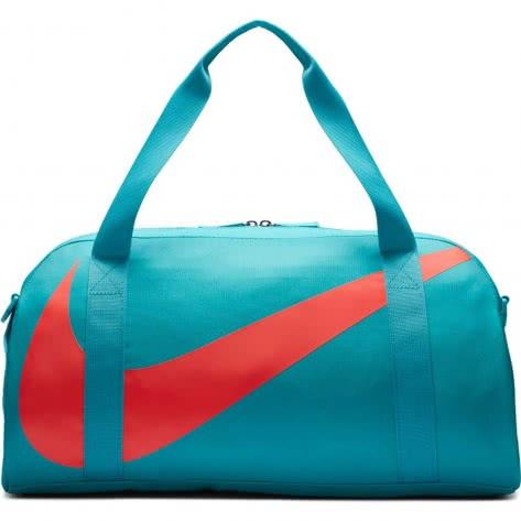 Nike Kinder Sporttasche Gym Club BA5567-367 Teal Nebula/Teal Nebula/Bright Crimson | One size