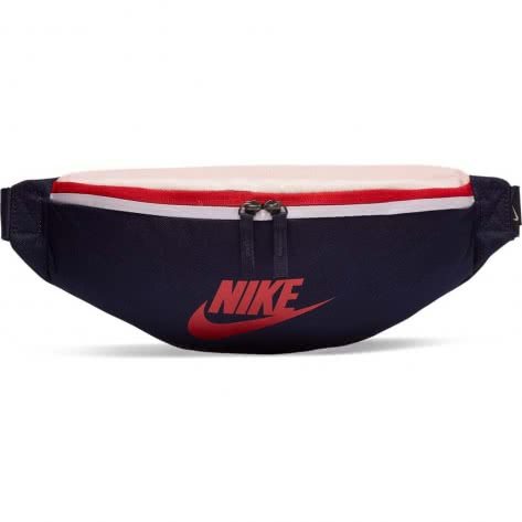 Nike Bauchtasche Heritage Hip Pack BA5750-498 Blackened Blue/Echo Pink/University Red | One size