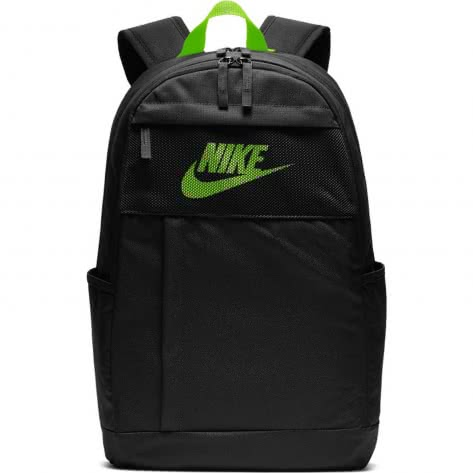 Nike Rucksack Elemental 2.0 Backpack LBR BA5878-011 Black/Electric Green/Electric Green | One size