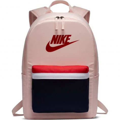Nike Rucksack Heritage 2.0 Backpack BA5879-682 Echo Pink/Blackened Blue/University Red | One size