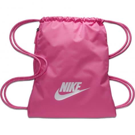 Nike Turnbeutel Heritage 2.0 Gym Sack BA5901-610 China Rose/China Rose/White | One size