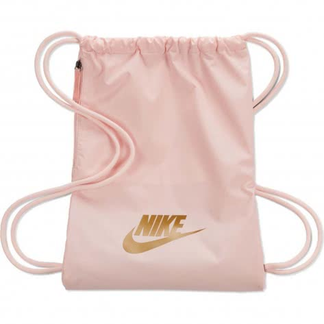 Nike Turnbeutel Heritage 2.0 Gym Sack BA5901-682 Echo Pink/Echo Pink/Metallic Gold | One size