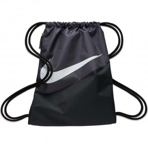 Nike Turnbeutel Heritage Gym Sack -  2.0 GFX BA5903-010 Black/Thunder Grey/White | One size