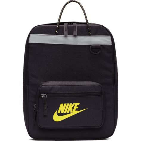 Nike Kinder Rucksack Tanjun Backpack BA5927-080 Oil Grey/Oil Grey/Dynamic Yellow | One size