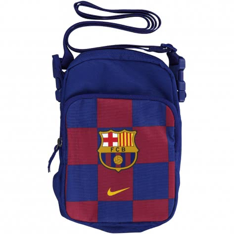 Nike Umhängetasche FC Barcelona Stadium SMIT BA5943-455 Deep Royal Blue/Noble Red/Varsity Maize | One size