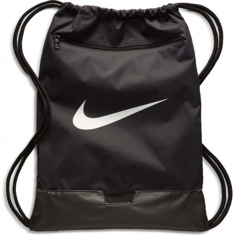 Nike Turnbeutel Brasilia Gym Sack- 9.0 BA5953-010 Black/Black/White | One size