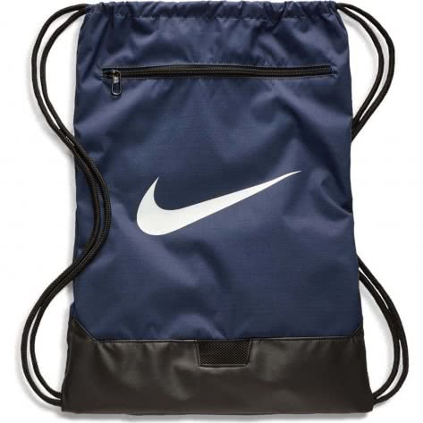 Nike Turnbeutel Brasilia Gym Sack- 9.0 BA5953-410 Midnight Navy/Black/White | One size