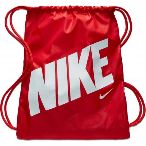 Nike Kinder Turnbeutel Gym Sack - AOP BA5992-657 University Red/University Red/White | One size