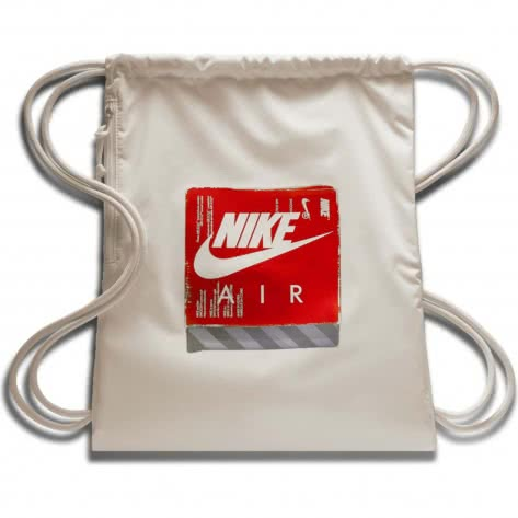 Nike Turnbeutel Heritage Gym Sack - GFX 3 BA6012-072 Light Bone/Light Bone/Light Bone | One size