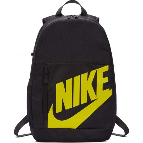 Nike Kinder Rucksack Elemental Backpack BA6030-080 Oil Grey/Thunder Grey/Dynamic Yellow | One size