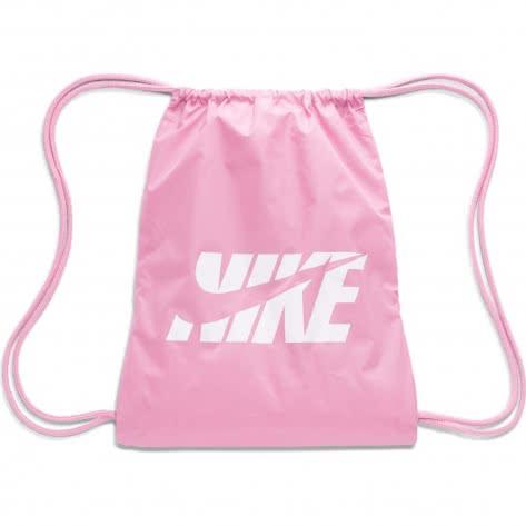 Nike Kinder Turnbeutel Graphic Gym Sack GFX BA6209-693 Magic Flamingo/White | One size