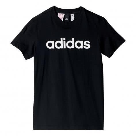 adidas Jungen T-Shirt Essentials Linear black Größe 116,128,140,152