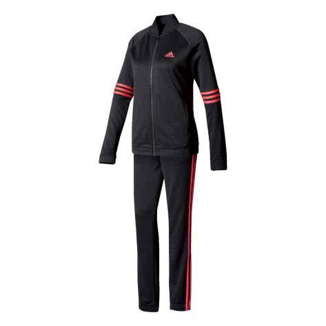 adidas Damen Trainingsanzug Cosy TS BK4692 S Black/Core Pink | S