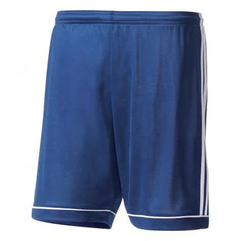 adidas Kinder Short mit Slip Squadra 17 dark blue white Größe 116,128,140,152,164
