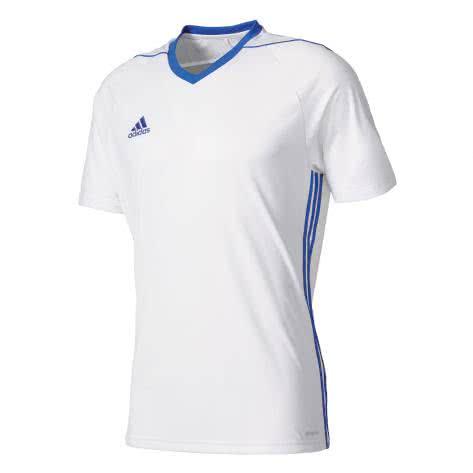 adidas Kinder Trikot Tiro 17 white bold blue Größe 116,128,140,164